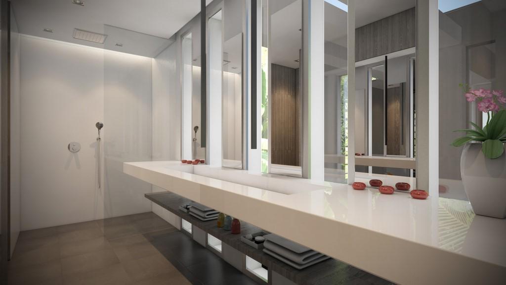 Chambre Elvis Presley Salle d\'eau | villa Saint Barth – villa my way ...